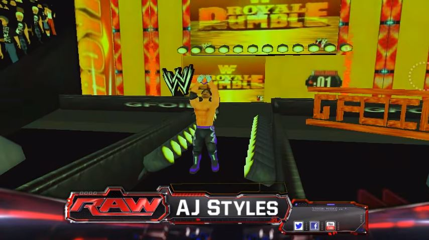 WR3D Mod 2k17 Apk Download WWE 2K17 | ApkEra com